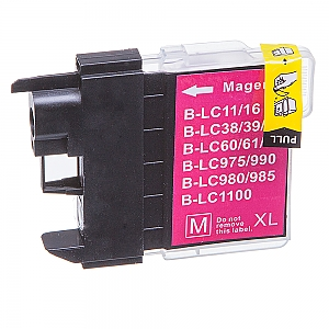 Brother LC-980/LC-1100M XL magenta, compatible