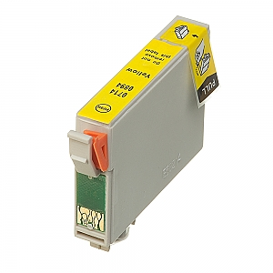 Epson T0714 geel, compatible