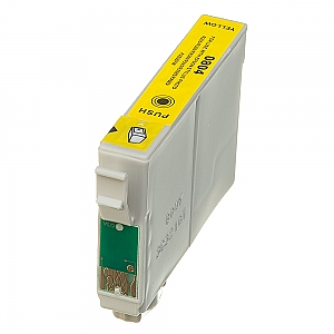 Epson T0804 geel, compatible