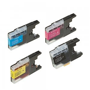Brother LC-1220/LC-1240 XL set, compatible