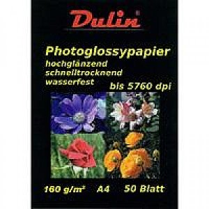 Photo Glossy Papier A4 160 gram (50 vel)