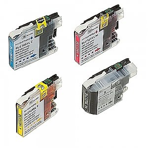 2 x Brother LC-127XL/LC-125XL set, compatible