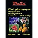 2 x Photo Glossy Papier A4 160 gram (50 vel)
