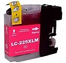 Brother LC-225XLM magenta/rood, compatibele