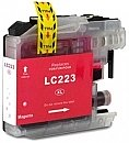 Brother LC-223M magenta met chip, compatible