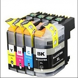 1 x Brother LC-227XL/LC-225XL set, compatible