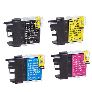 1 x Brother LC-985 XL set, compatible