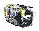 2 x Brother LC-3219 set, compatible