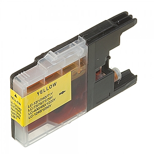 Brother LC-1220/LC-1240Y XL geel, compatible