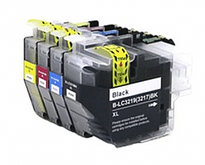 1 x Brother LC-3219 set, compatible