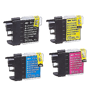 2 x Brother LC-985 XL set, compatible