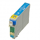 Epson T0802 cyaan, compatible
